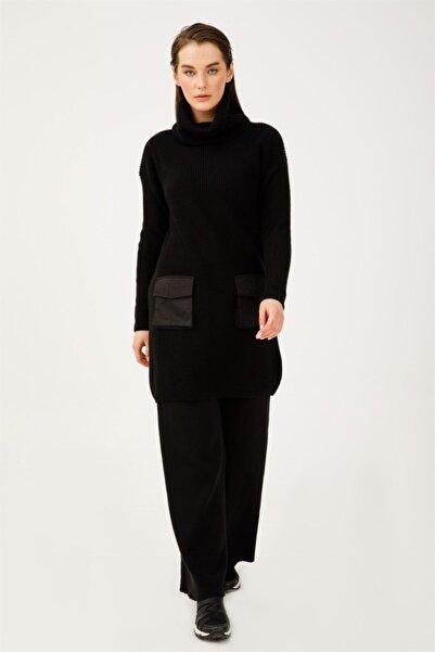Ghisa Kadın Siyah Tunik