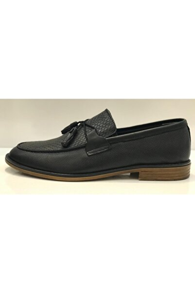 Santa Barbara Polo & Racquet Club Erkek Siyah Klasik Ayakkabı