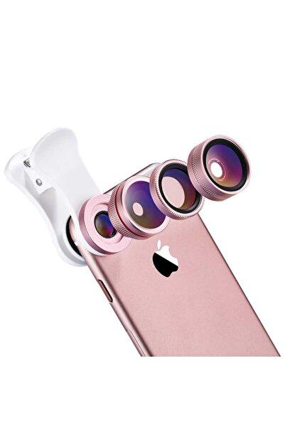 Benks Orijinal 4 In 1 Tüm Cihazlara Uygun Kamera Lensi