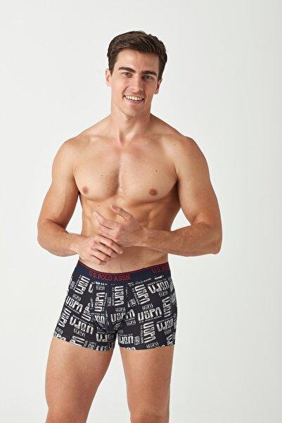 U.S. Polo Assn. Erkek Lacivert  2 li Boxer