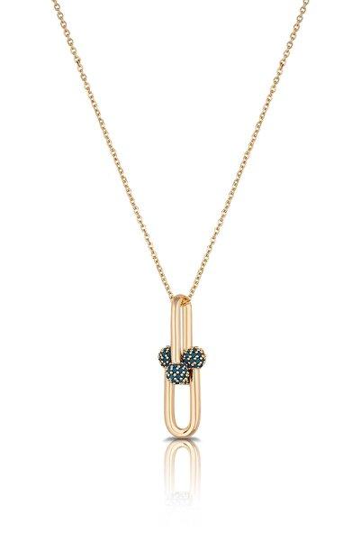 Toms Jewelry Kadın Altın Kolye Tmj30350-450-g