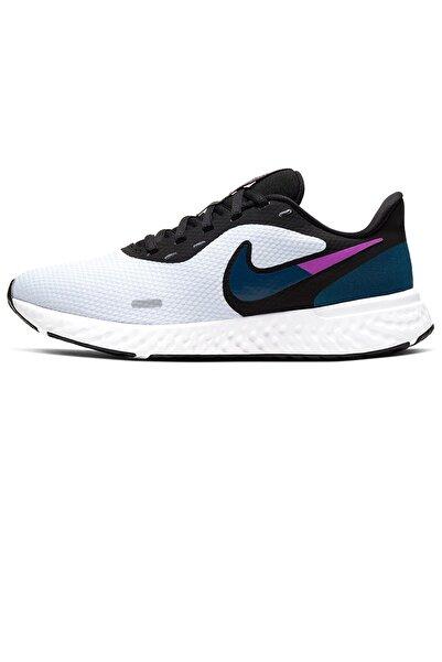 Nike Beyaz Revolution 5 Koşu Ayakkabısı Bq3207-102