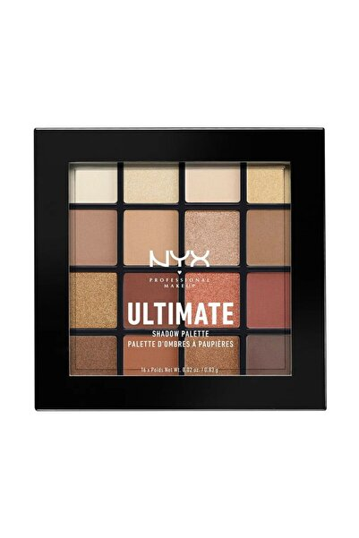 NYX Professional Makeup Nyx Ultimate Shadow Pallette Warm Neutrals 16 Renk Göz Farı Paleti