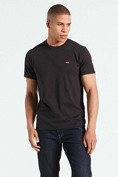 Levi's Erkek Siyah Pamuklu T-Shirt 56605-0009