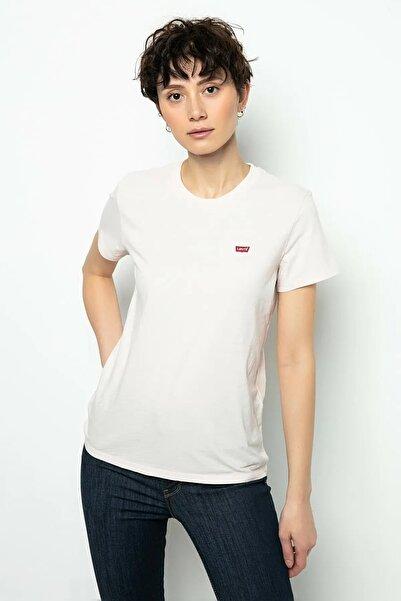 Levi's Kadın Beyaz Pamuklu T-Shirt 39185-0069