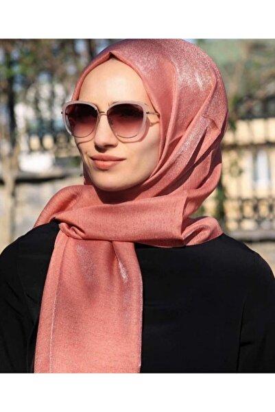Karaca Kadın Pembe Pırıltı Şal