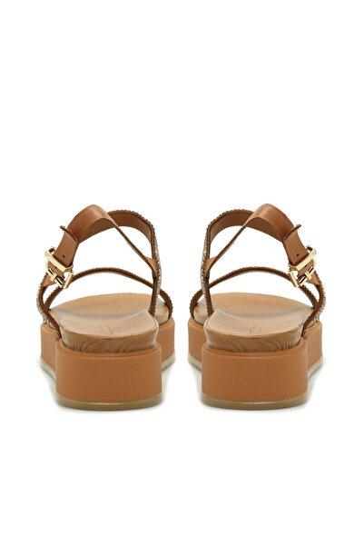 Dıvarese Kadın Taba Sandalet 5024423