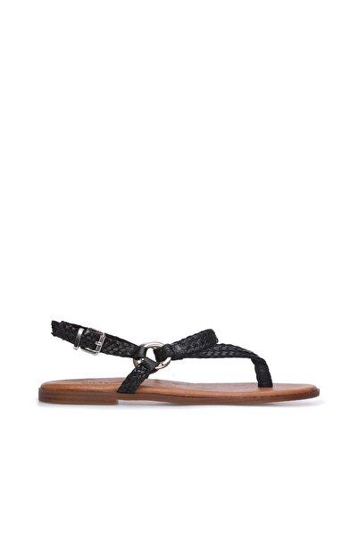 Dıvarese Kadın Siyah Sandalet 5024424