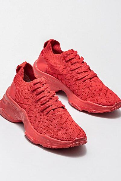 Elle Shoes Kırmızı Kadın Spor Ayakkabı