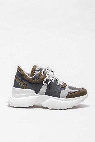 Elle Shoes TIFFANI Yeşil Kadın Ayakkabı