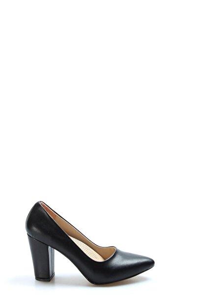 FAST STEP Kadın Siyah Topuklu Ayakkabı