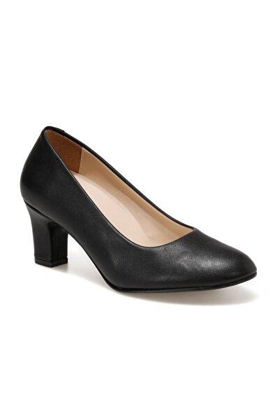 Polaris 316083.z Siyah Kadın Gova Ayakkabı