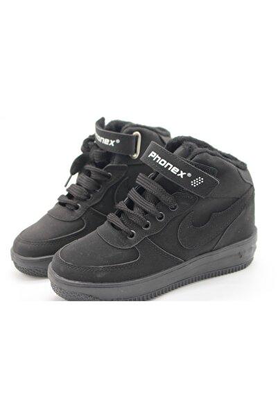 Phonex Erkek Çocuk Siyah Sneaker Ph-29