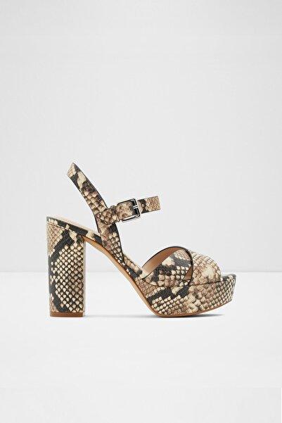 Aldo Kadın Bej Platına Natürel Yüksek Topuklu Sandalet