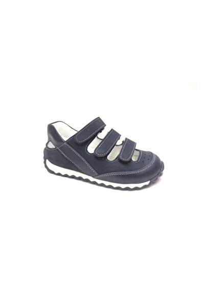 Perlina Erkek Çocuk Lacivert Hakiki Deri Günlük Ayakkabı