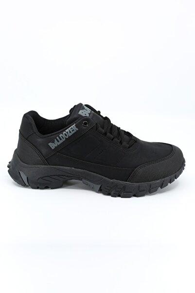 Bulldozer Erkek Siyah Ayakkabı
