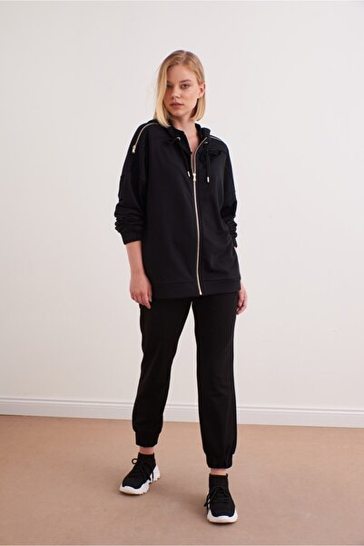 VENA Kadın Siyah Ceket