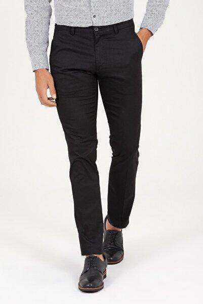 Hatemoğlu Siyah Regular Fit Kumaş Pantolon