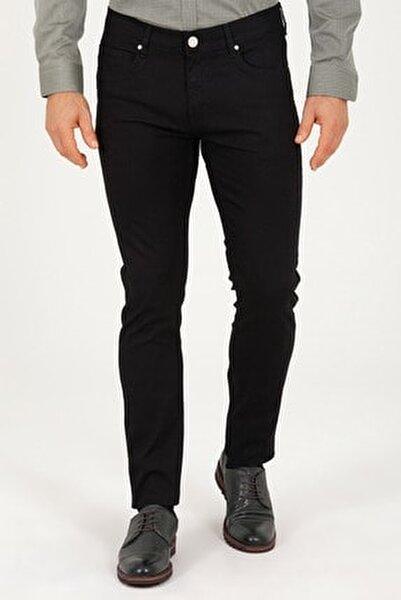 Siyah Slim Fit Jean Pantolon