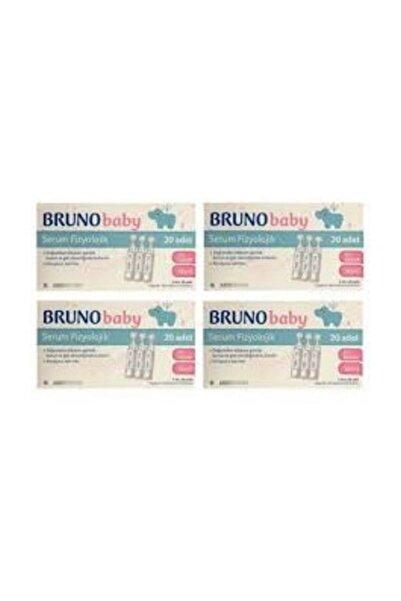 Bruno Baby Serum Fizyolojik 5 Ml 20 Flakon 4 Adet Skt:06-22