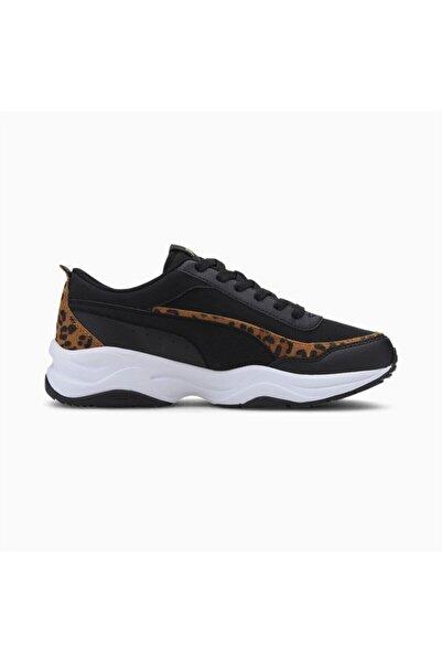 Puma Kadın Siyah Cilia Mode Leo Black  Yürüyüş Ayakkabısı
