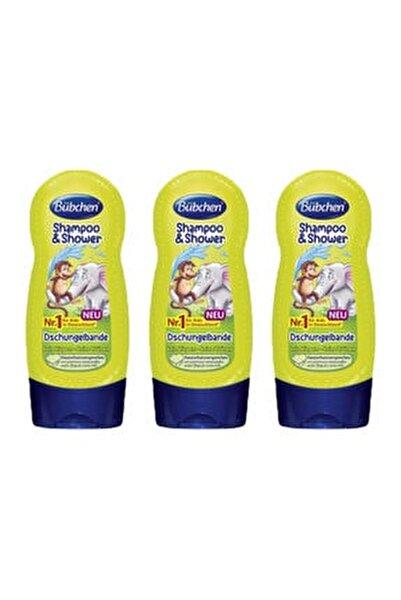 Tropik Orman Çocuk Şampuanı Ve Duş Jeli 230 ml X 3 Adet