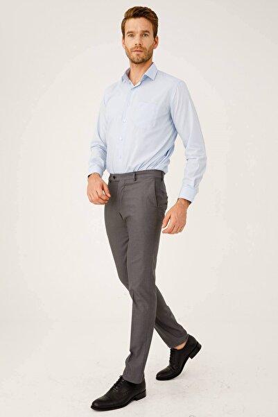 İgs Erkek Duman Gri Dar Kalıp Pantolon