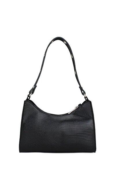 Housebags Kadın Siyah Baguette Çanta 195