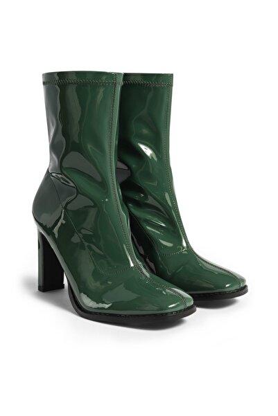 Twist Kadın Yeşil Topuklu Bot TW6200034015