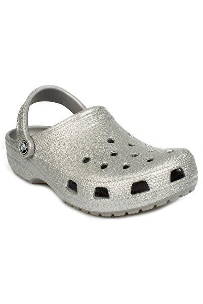 Crocs Unisex Gümüş Terlik