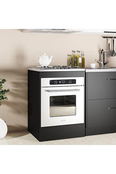 massan Mutfak Dolabı - Ankastre Ürgüp Modül Siyah