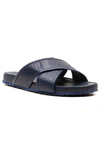 Ferre Erkek Lacivert Sandalet Ayakkabı