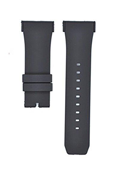 Puma Pu103461015 Saat Uyumlu Siyah Renk Aparatlı Siyah Renk Silikon Saat Kordonu