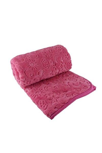 Bahar Kız Bebek Bordo Soft Battaniye