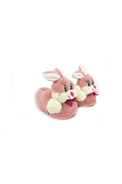 Chirpy Kadın Pembe Sevimli Tavşan Panduf