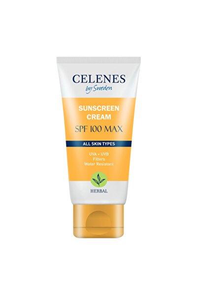 Celenes by Sweden Celenes Herbal Güneş Koruma Kremi 100 Max Spf 50ml / Tüm Cilt Tipleri