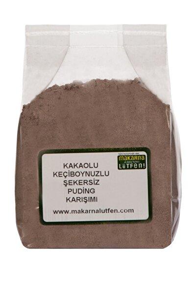 Makarna Lütfen Kakaolu-keçiboynuzlu Şekersiz Puding Karışımı (150 G)