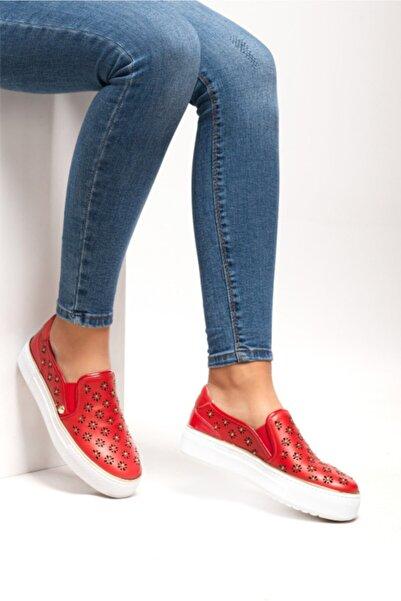 Ferre Kadın Kırmızı Casual Ayakkabı