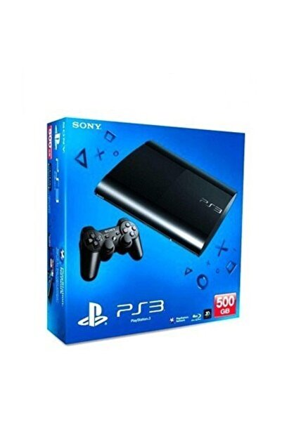 Sony SIFIR Sony Playstation 3 500 GB ( Süper Slim Kasa ) Konsol+2.KOL