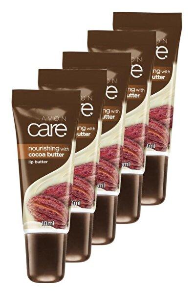 AVON Kakao Yağı Ve E Vitamini Içeren Dudak Balmı 10 Ml. Beşli Set