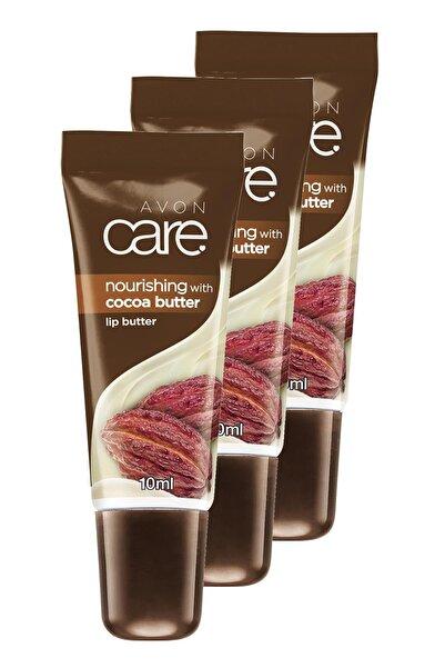 AVON Kakao Yağı Ve E Vitamini Içeren Dudak Balmı 10 Ml. Üçlü Set