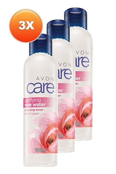 AVON Care Purifying Gül Suyu 100 Ml. Üçlü Set