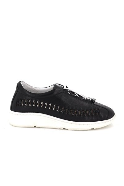 Hobby Divadonna Siyah Ortopedik Kadın Günlük Ayakkabı Dd2229