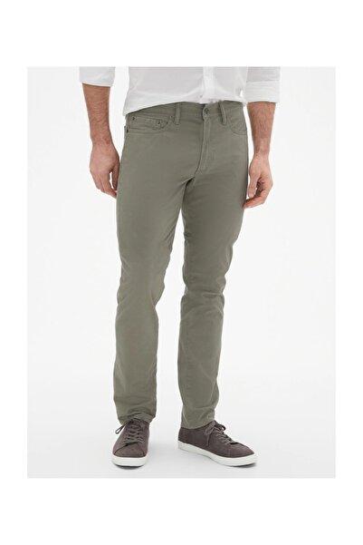 GAP Erkek Haki Slim Fit Gapflex Streç Pantolon 338343