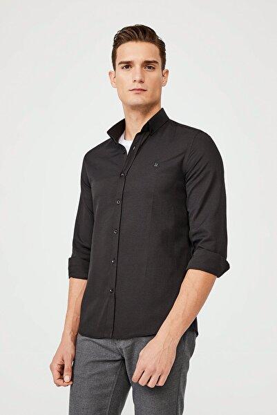 Avva Oxford Düğmeli Yaka Slim Fit Gömlek