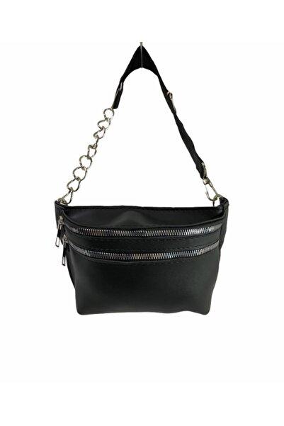Chicago Polo Kadın Siyah Bel Çanta