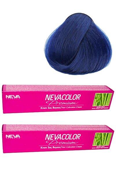 Neva Color Nevacolor Tüp Boya 0.11 Yoğun Mavi Ekonomik 2'li Paket