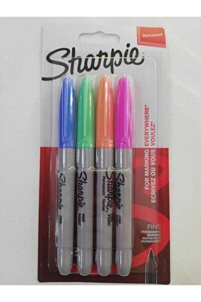 Sharpie Fine Permenant  Pastel Renkler 4'lü