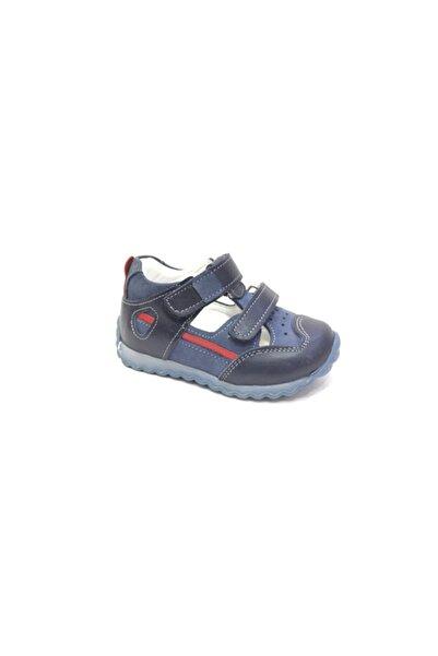 Perlina Erkek Çocuk Lacivert Hakiki Deri Ortopedik Günlük Ayakkabı 1162-4