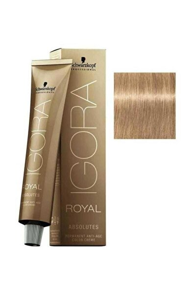 SCHWARZKOPF HAIR MASCARA Sarı Doğal Bej Igora Royal Absolutes Saç Boyası 9-40 60 ml 4045787282573